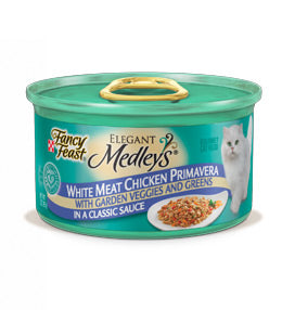 Fancy Feast Elegant Medleys White Meat Chicken Primavera Canned Cat Food