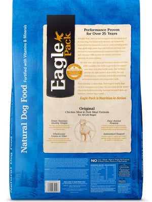 Eagle Pack Natural Chicken and Pork Meal Formula Dry Dog Food