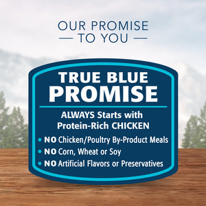 Blue Buffalo Wilderness Rocky Mountain Recipe Red Meat Dinner Adult Canned Dog Food