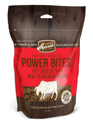 Merrick Power Bites Real Texas Beef Recipe Dog Treats