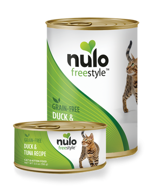 Nulo FreeStyle Grain Free Duck & Tuna Recipe Canned Kitten & Cat Food