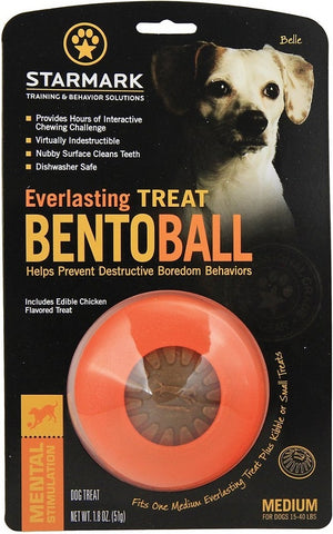 Starmark Everlasting Treat Bento Ball Dog Chew Toy