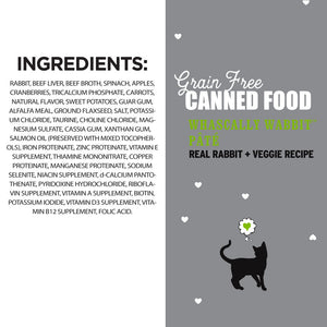 I and Love and You Grain Free Whascally Rabbit Recipe Canned Cat Food