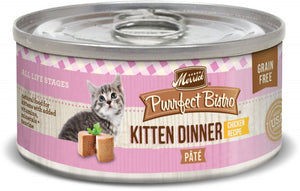 Merrick Purrfect Bistro Grain Free Kitten Dinner Canned Cat Food