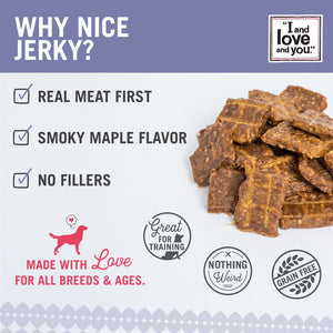 I And Love And You Nice Jerky Grain Free Chicken & Salmon Dog Treats