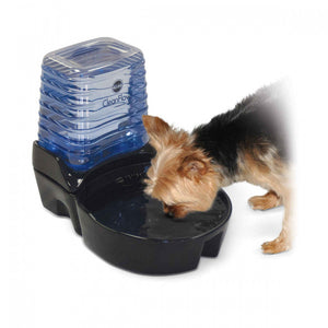K&H Pet Products CleanFlow Small Dog Ceramic Fountain with Reservoir 170 oz.