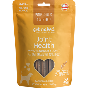 N-Bone Get Naked Grain Free Joint Health Dental Chew Dog Treats