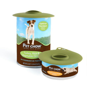 Dexas Popware for Pets Flexible Suction Can Lid