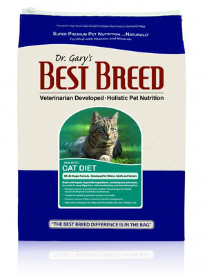 Dr. Gary's Best Breed  All Life Stages Dry Cat Food