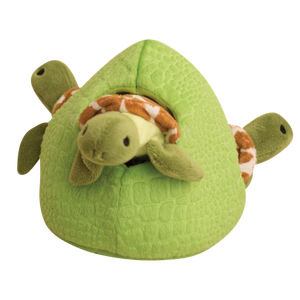 Snugarooz Hide & Seek Turtle Reef Interactive Dog Toy