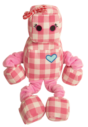 Snugarooz Rosie the Robot Plush Dog Toy