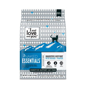 I and Love and You Naked Essentials Digestive Support Chicken & Pumpkin Dry Cat Food