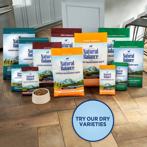 Natural Balance L.I.D. Limited Ingredient Diets Salmon & Brown Rice Puppy Formula Dry Dog Food