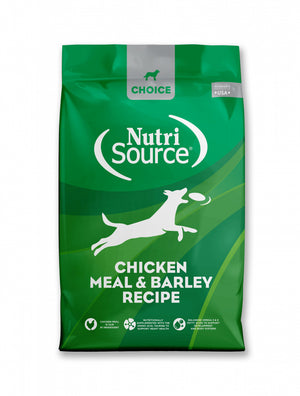 NutriSource Choice Chicken Meal & Barley Recipe Dry Dog Food