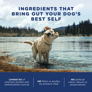 Natural Balance L.I.D. Limited Ingredient Diets Chicken & Brown Rice Large Breed Bites Dry Dog Food