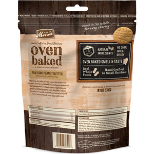 Merrick Oven Baked Paw'some Peanut Butter Dog Treats