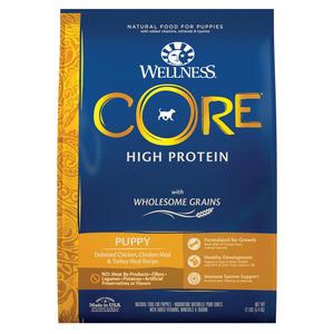 Wellness CORE High Protein Wholesome Grains Puppy Recipe Dry Dog Food