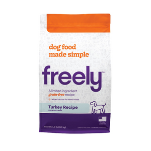 Freely Limited Ingredient Diet Natural Grain Free Turkey Kibble Adult Dry Dog Food
