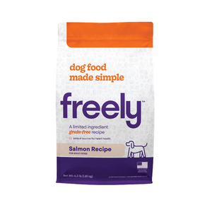 Freely Limited Ingredient Diet Natural Grain Free Salmon Kibble Adult Dry Dog Food