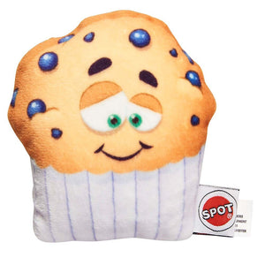 Ethical Fun Food Blueberry Muffin Plush Dog Toy