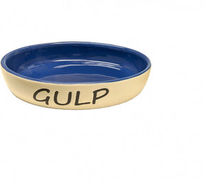 Ethical Pet Gulp Oval Cat Dish Blue