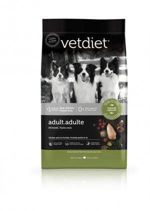 Vetdiet Chicken & Rice Formula Adult All Breeds Dry Dog Food