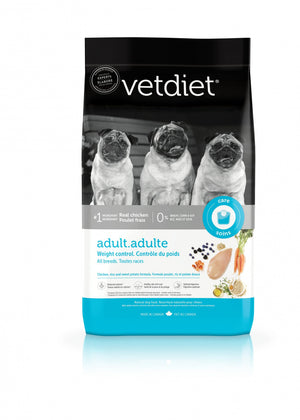 Vetdiet Chicken & Rice Formula Adult Weight Control All Breeds Dry Dog Food