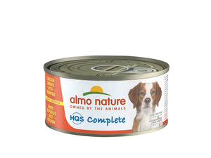 Almo Nature HQS Complete Dog Complete & Balanced Chicken Dinner with Egg & Pineapple Canned Dog Food