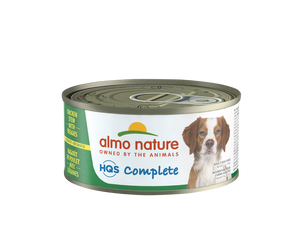Almo Nature HQS Complete Dog Complete & Balanced Chicken Stew with Beef Canned Dog Food
