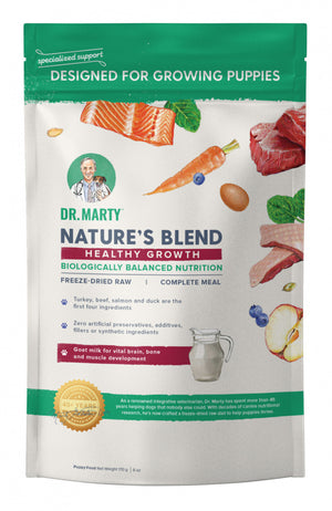 Dr. Marty Nature's Blend for Puppies Freeze Dried Raw Dog Food