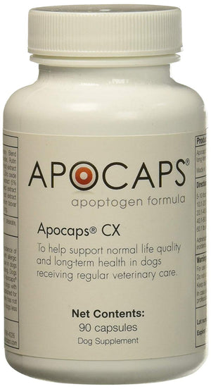 Apocaps CX Apoptogen Formula for Dogs