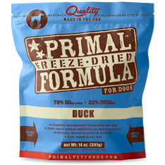 Primal Freeze Dried Canine Duck Formula