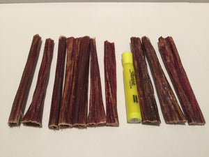 "Happy Tail's 6"" Beef Gullet Sticks"