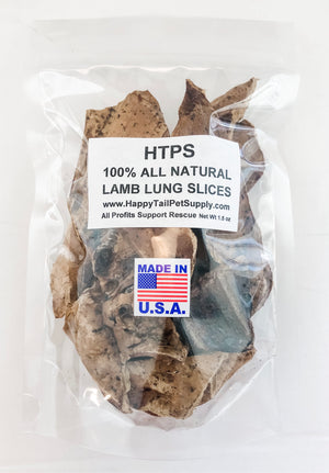 HTPS 100% Lamb Lung Slices