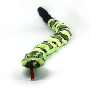 GIANT 3 Foot Invincible Green Snake