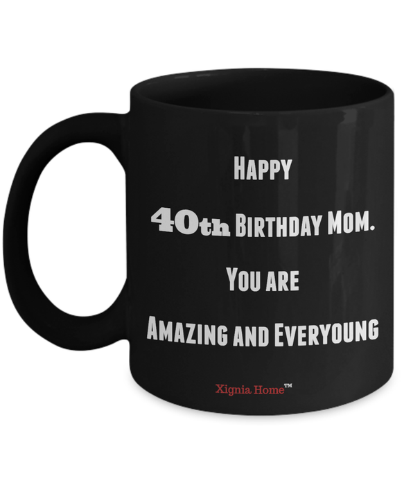 40th Birthday Gifts Coffee Mug Best Unique And Unusual Anniversary Present Gift For Him