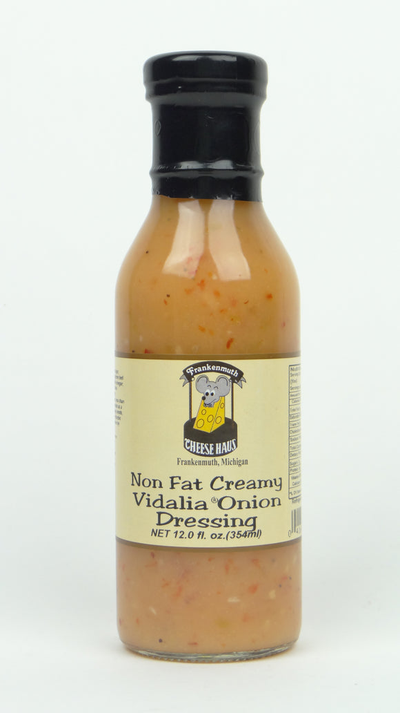 Cheese Haus Non Fat Creamy Vidalia Onion Dressing