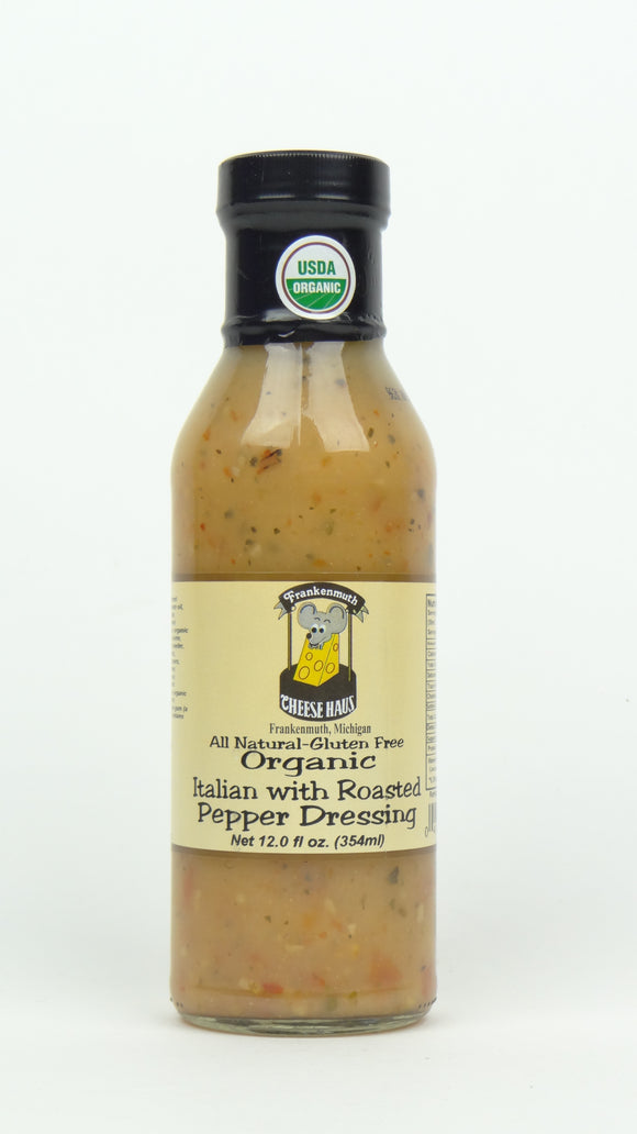 Cheese Haus Organic Italian With Roasted Pepper Dressing