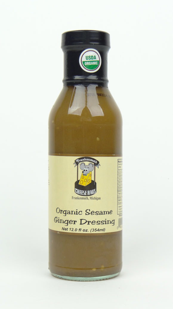 Cheese Haus Organic Sesame Ginger Dressing