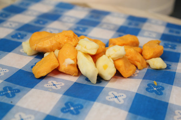 Yellow/White Mixed Cheese Curds