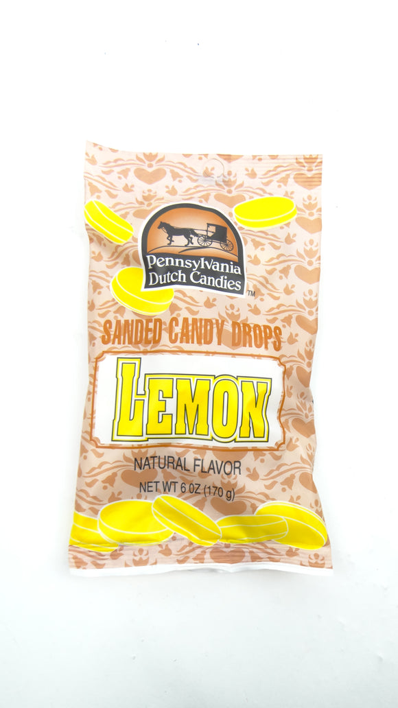 Lemon Candy Drops