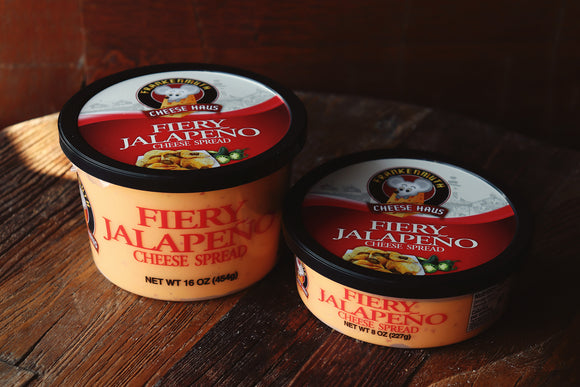 Fiery Jalapeno Cheese Spread- made