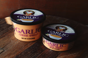 "Garlic Cheese Spread- made ""in haus"""