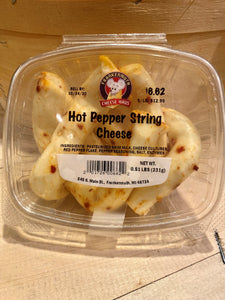 Hot Pepper String Cheese