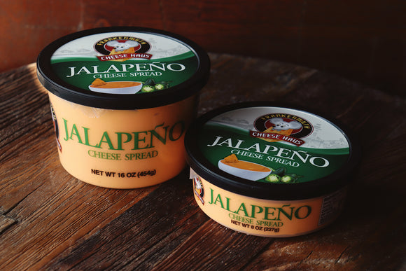 Jalapeno Cheese Spread- made