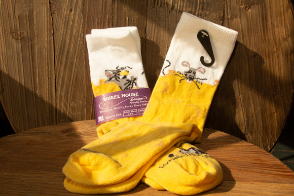 Cheese Haus Mouse Socks