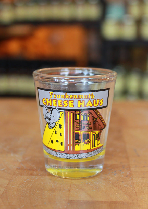 Cheese Haus Shot Glass
