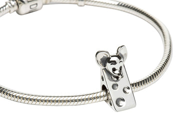 Klaus the Cheese Haus Maus Sterling Silver Bead