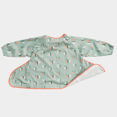 Tidy Tot Additional Coverall Bib – Carrots Unisex Print