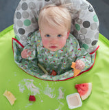Tidy Tot Bib and Tray Kit - FRESH GREEN